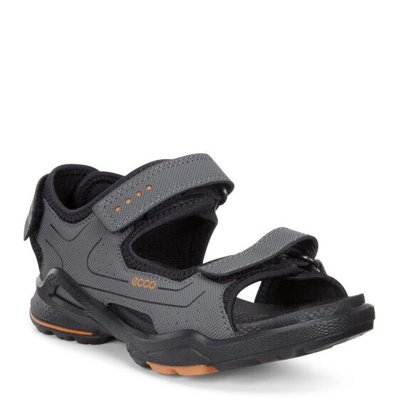 ECCO BIOM Kids Sandal (DARK SHADOW/BLACK)