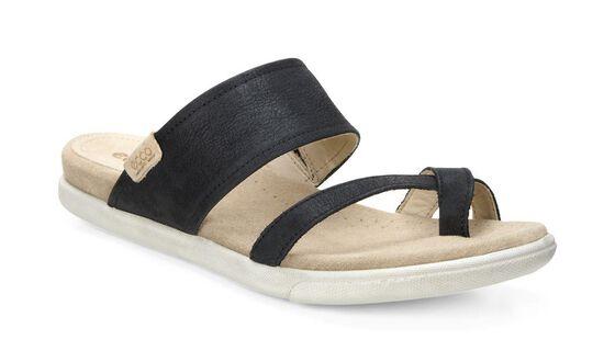 ECCO Damara Sandal (BLACK)
