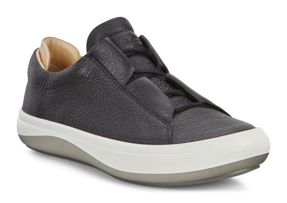 ECCO Womens Kinhin Low (BLACK/VEG TAN)