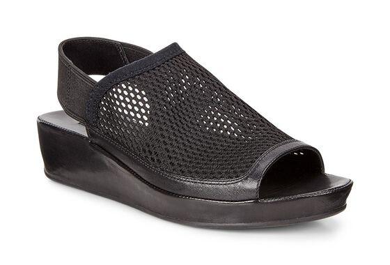 ECCO Tabora 45 Sandal (BLACK/BLACK)