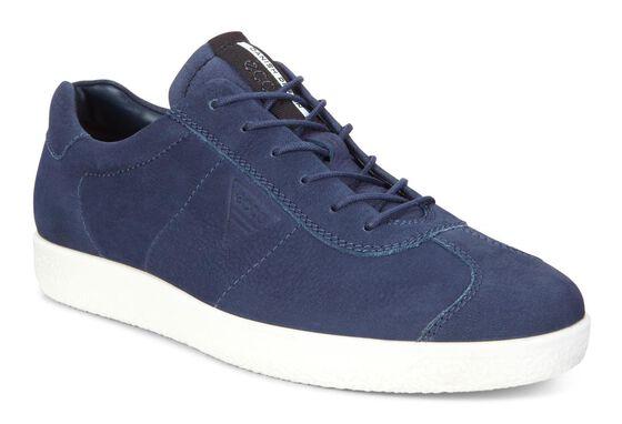 ECCO Mens Soft 1 Sneaker (MARINE)