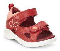 ECCO Peekaboo Infants Sandal (TOMATO/CORAL)