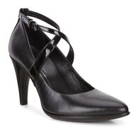 ECCO Shape 75 Crisscross Pump (BLACK/BLACK)