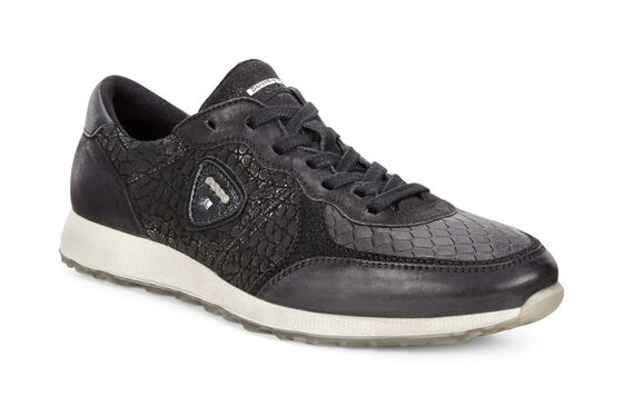 ECCO Womens Sneak (BLACK/BLACK-BLACK/BLACK)