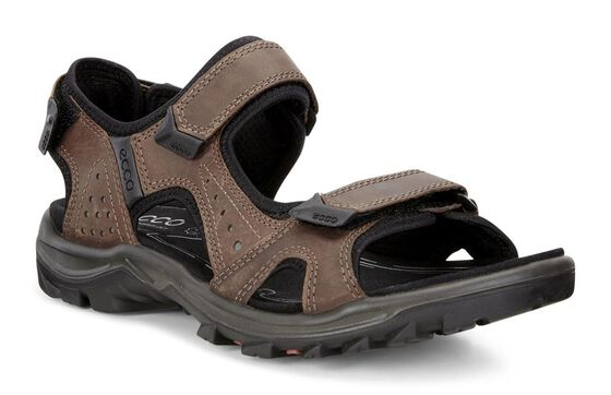 ECCO Mens Cheja Offroad Sandal (COCOA BROWN/BISCAYA)