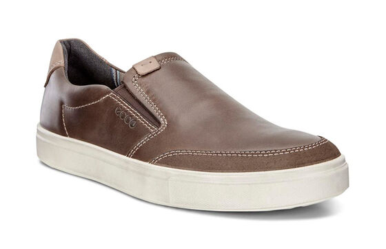 Slip on ECCO Kyle (DARK CLAY/DARK CLAY)