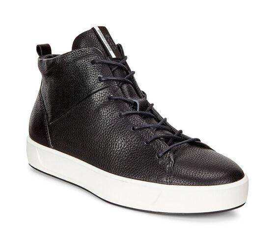Chaussure montante ECCO Soft 8 pour femmes (BLACK)