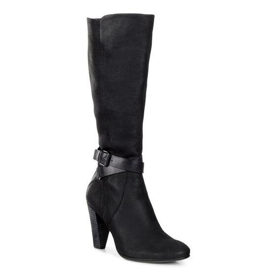 ECCO Shape 75 Tall Boot (BLACK/BLACK)