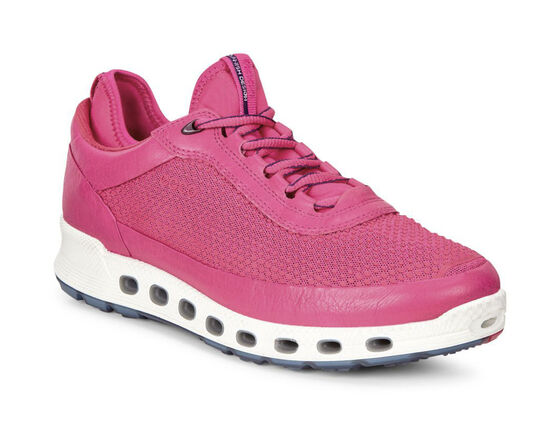ECCO Womens Cool 2.0 GTX Textile Sneaker (BEETROOT/BEETROOT)
