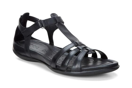 Sandale T-Strap ECCO Flash (BLACK/BLACK)