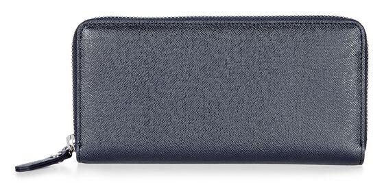 ECCO Iola Large Zip Wallet (NAVY BLUE)