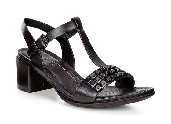 Sandale strass ECCO Shape 35 (BLACK)