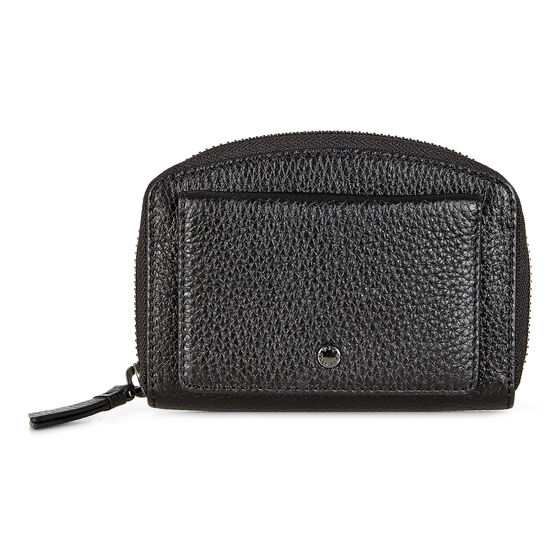 ECCO SP 2 Medium Bow Wallet (BLACK)