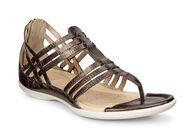 Sandale à lanières en T ECCO Flash (LICORICE)