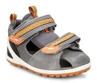 ECCO BIOM Lite Infants Sandal (TITANIUM/DARK SHADOW)