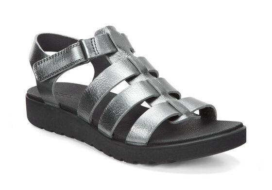 ECCO Freja Ankle Sandal (DARK SHADOW)