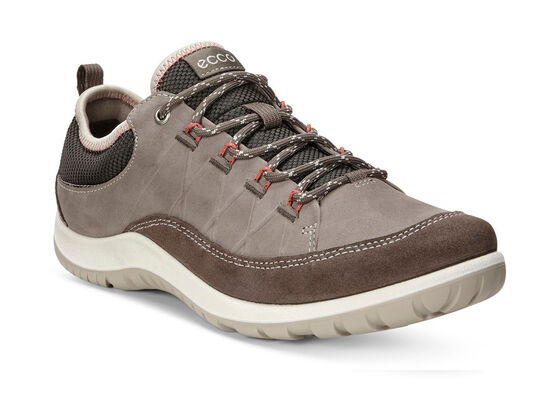 ECCO Womens Aspina Low (DARK CLAY/WARM GREY)