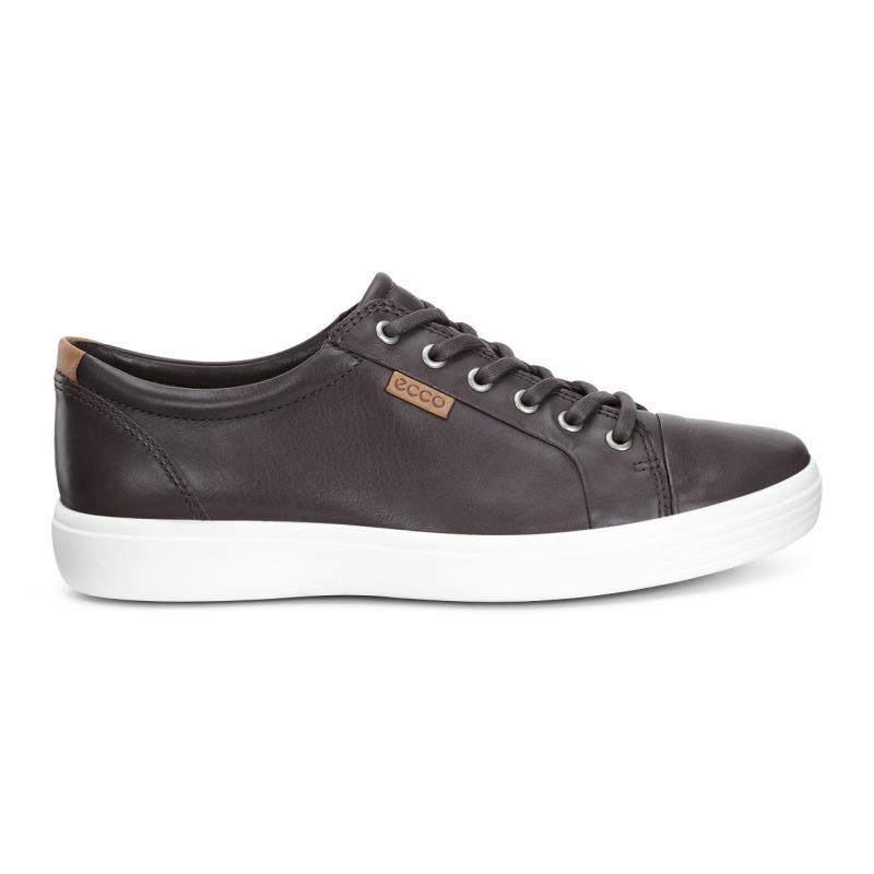 ... ECCO Mens Soft 7 SneakerECCO Mens Soft 7 Sneaker MOCHA (01178) ...