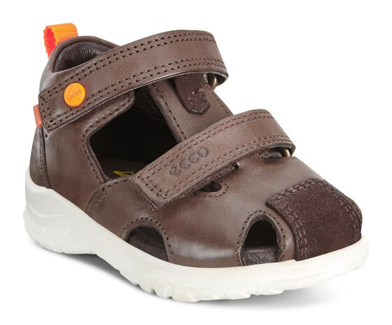 ECCO Peekaboo Sandal (COFFEE/MOCHA)