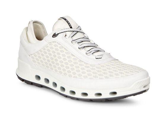 ECCO Mens Cool 2.0 GTX Textile Sneaker (WHITE/WHITE)