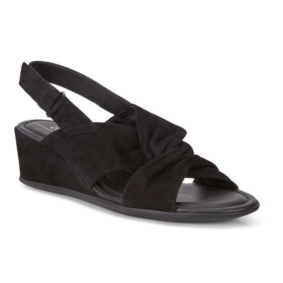 Sandale compensée ECCO Shape 35 (BLACK)