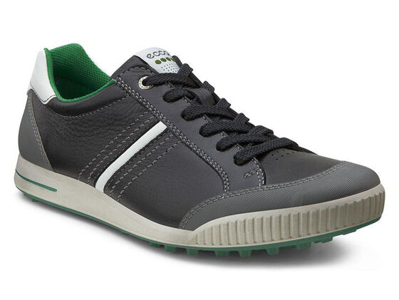 ECCO Golf Street Retro (BLACK/SHADOW WHITE/PURE GREEN)