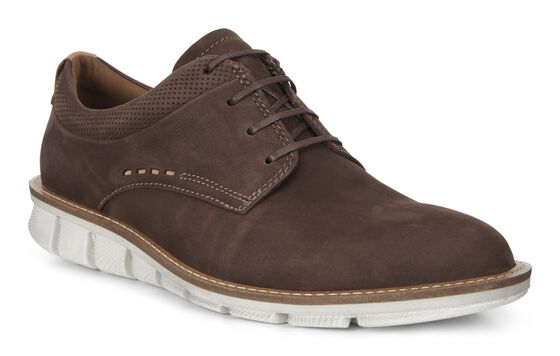 ECCO Jeremy Hybrid Plain Toe (COFFEE)