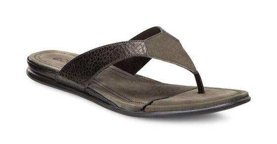 Sandale Thong ECCO Touch (LICORICE METALLIC/TARMAC)