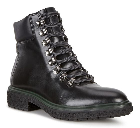ECCO Womens Crepetray Hybrid Boot (BLACK)