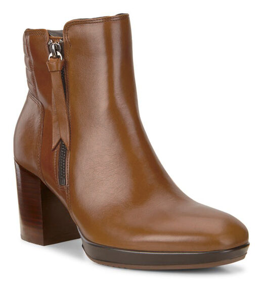 ECCO Shape 55 Chalet Mid Boot (CAMEL)