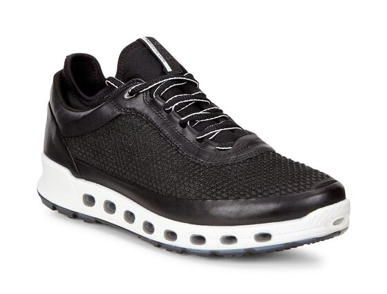 ECCO Womens Cool 2.0 GTX Textile SneakerECCO Womens Cool 2.0 GTX Textile Sneaker in BLACK/BLACK (51052)