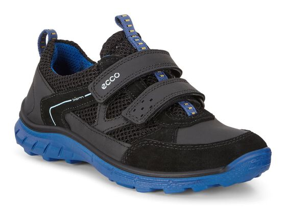 ECCO BIOM Trail Kids (BLACK/BERMUDA BLUE)
