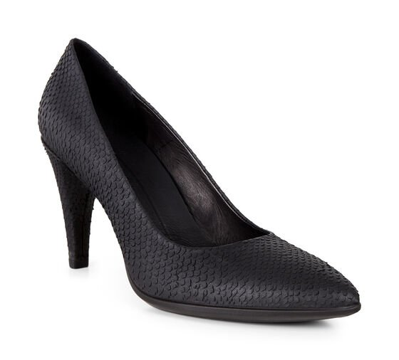 ECCO Shape 75 Pointy Pump (BLACK)