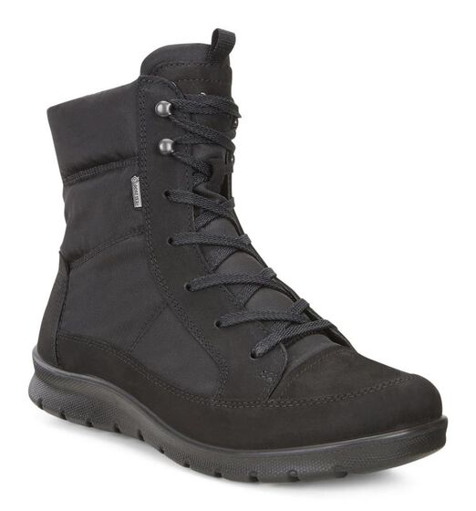 ECCO Babett GTX Lace Boot (BLACK)