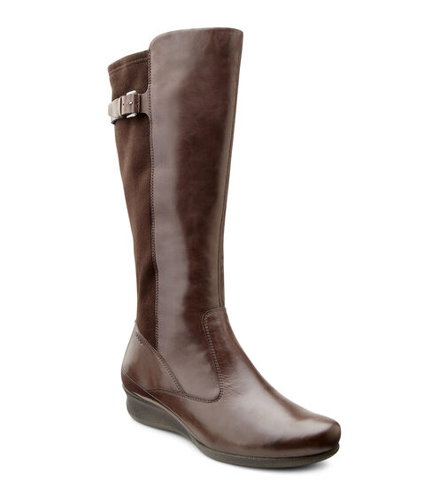 ECCO Abelone Tall Boot (COFFEE/COFFEE)