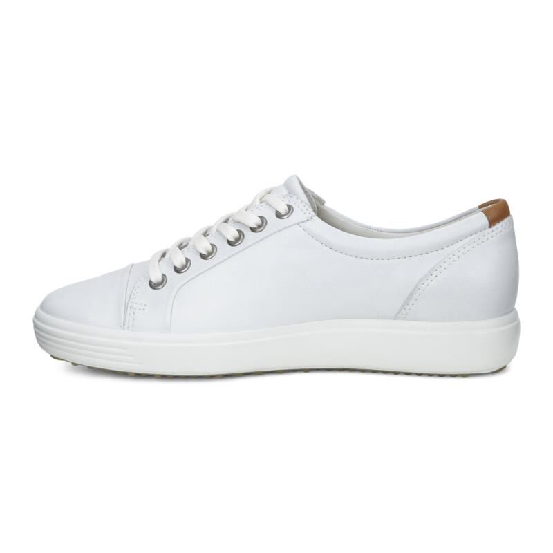 ... ECCO Womens Soft 7 SneakerECCO Womens Soft 7 Sneaker WHITE (01007) ...