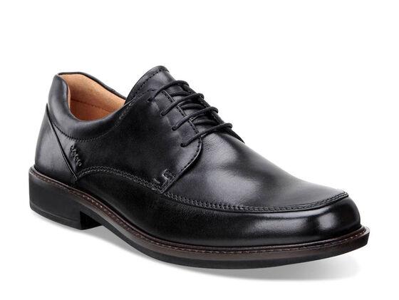 ECCO Holton Apron Toe Tie (BLACK)