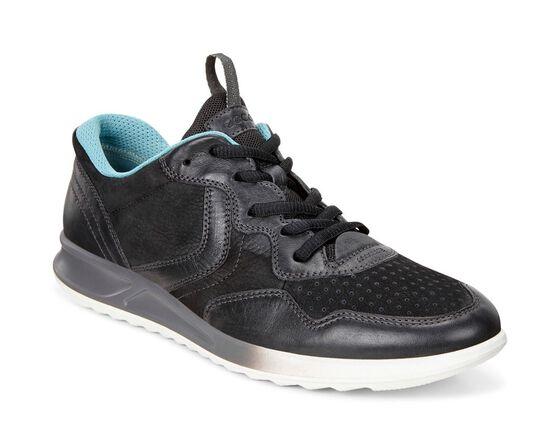 ECCO Genna Sneaker (BLACK/BLACK)