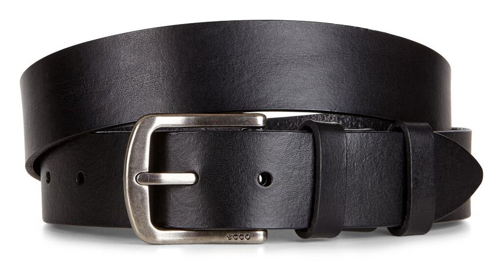 ECCO Elias Casual Belt (BLACK/BLACK)