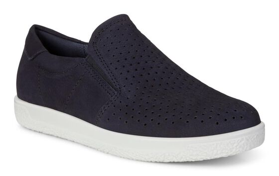 ECCO Womens Soft 1 Slip On (NIGHT SKY)