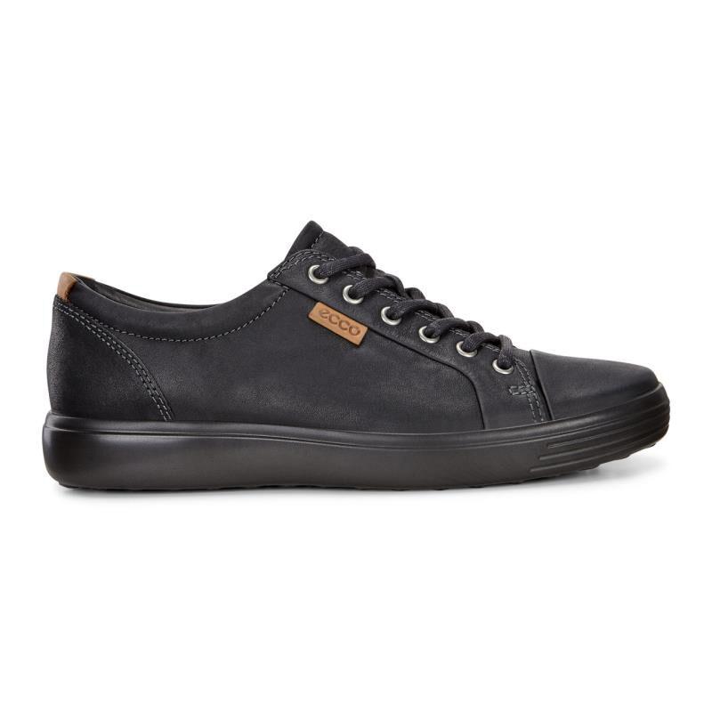 ECCO Mens Soft 7 SneakerECCO Mens Soft 7 Sneaker BLACK/BLACK (51707) ...