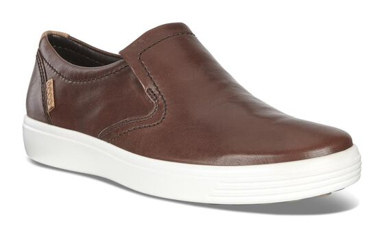Slip-on ECCO Soft 7 pour homme (WHISKY)