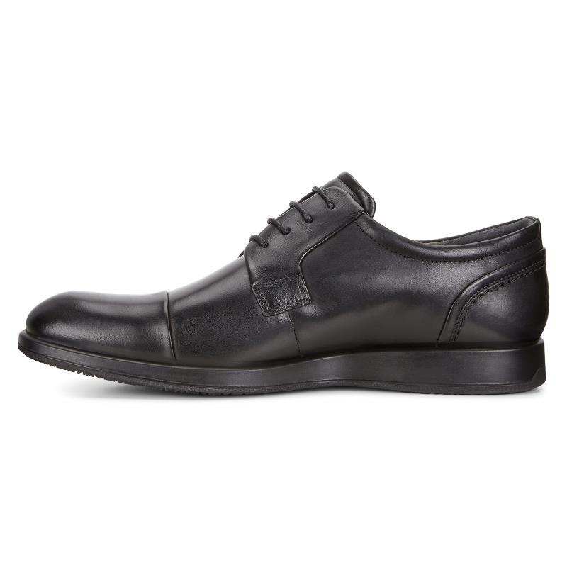 Jared, Derby Homme - Noir (Black 01001) - 45 EUEcco
