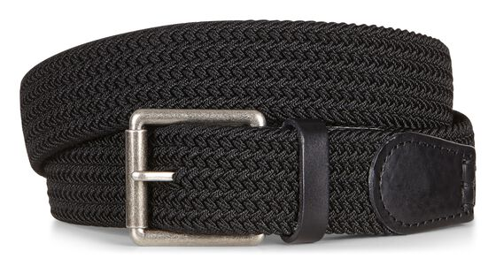 ECCO Tobias Casual Belt (BLACK)