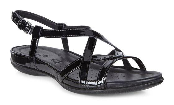Sandale à courroie croisée ECCO Flash (BLACK)