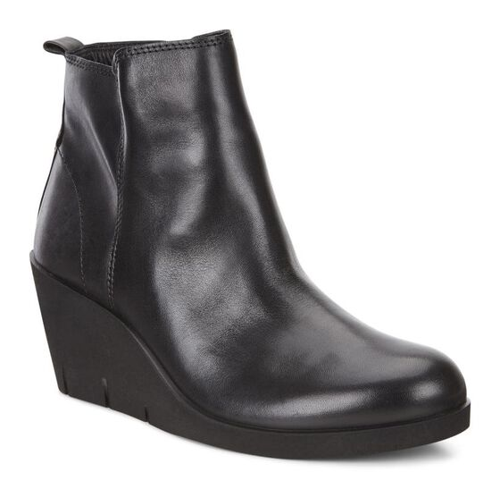 Bottillon ECCO Bella Wedge (BLACK)