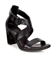 ECCO Shape 65 Block Sandal (BLACK)