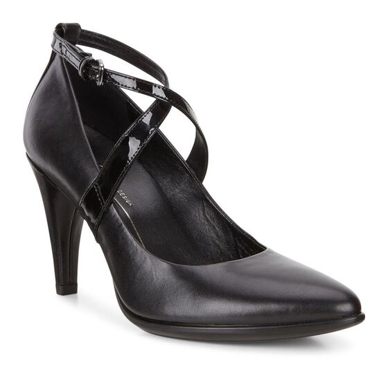 Escarpin ECCO Shape 75 Crisscross (BLACK/BLACK)