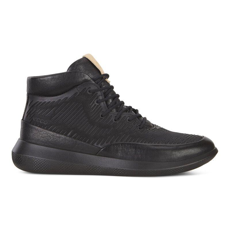 Chaussures De Sport Scinapse Élevées Noir Ecco AbA4A3Sv