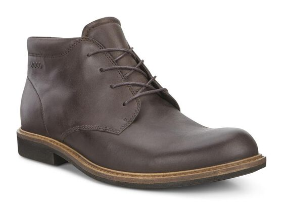 ECCO Findlay Plain Toe Boot (COFFEE)